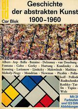 Cor Blok, Die Geschichte d. abstrakte Kunst 1900 - 1960, DuMont Dokumente, 1975