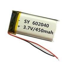 NEW 3.7V 450mAh lipo Li-Polymer li ion Battery For Mp3 GPS camera Radio 602040