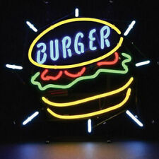 "New Fast Food Delicious Burger Bar Cub Decor Neon Light Sign 20""x16"""