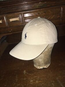 polo ralph lauren Mens Hat One Size Only Beige