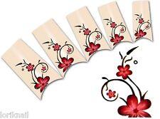 Nail Art Wasser Tattoo Aufkleber für Nageldesign BLE1832 Blumen Ornamente