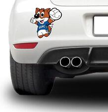 Filbert fox football themed cartoon image mascot premier league teams