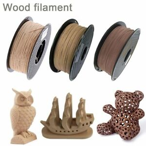 Wood Filament 3D Printer 1.75mm 250g / 0.5Kg / 1Kg 3D Wooden Color Filaments