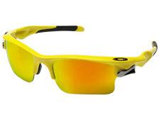 Oakley Fast Jacket XL Sunglasses OO9156-3971 Team Yellow/Fire Iridium