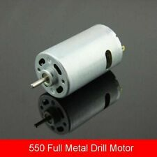 550 DC 9-24V 10000RPM High Speed Big Torque Strong Magnet Motor,DIY Drill Motor