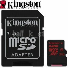 64GB Genuine Kingston Micro SDXC SD Memory Card R:90MB/s W:80MB/s SDCA3/64GB