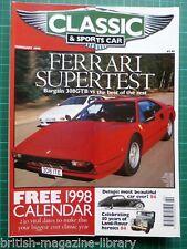 C&sc 2/1998 Ferrari 308gtb Pantera Esprit Turbo SE Delage d8-120 p5b Lesabre