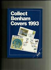 """Collect """"Benham"""" Covers Catalogue 1993, Mint , Commems. Defins. Regionals,Pcs"""