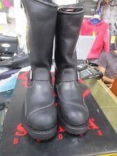 Stivali Sendra (Spagna) taglia 47 nero. Classico da motociclista