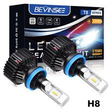 Paar h11 LED Scheinwerfer Birnen Abblendlicht 16000lm für Toyota Auris RAV 4 mk3 05-16