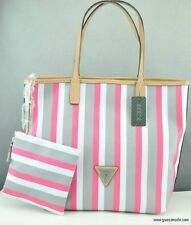 Nuovo Borsa Genuino GUESS Wink Totes Satchel Donna Bianco Mlt