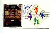 Joan Leslie High Sierra Sergeant York Yankee Doodle Dandy Signed Autograph FDC
