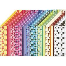16 x A4 Card Stock Assorted Designs Double Sided Making Scrapbooking Craft 250g