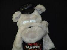 Born To Ride Bulldog Harley Davidson Shirt Bad Toy Dog Plush Stuffed Animal
