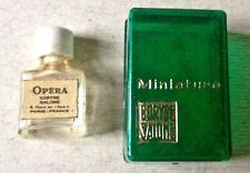 Vintage Small Coryse Salome OPERA Perfume Bottle & Case