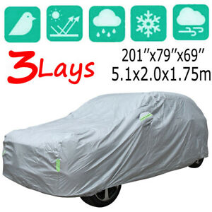 Waterproof Van & SUV Car Cover Breathable Indoor UV Dirt Scratch Protection YXL