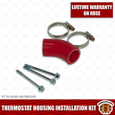 97-11 4.0L Thermostat Housing Installation Kit (Bypass Hose/Clamps/Bolts)