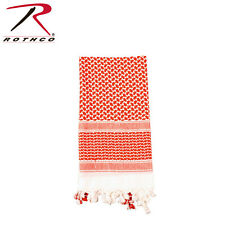 Rothco Shemagh Tactical Desert Scarf Red & White #8537