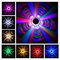 Flower 3W LED Wall Light Fixture Ceiling Lamp Indoor Lighting Disco KTV Corridor