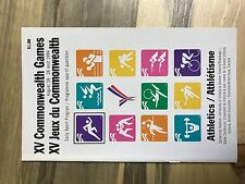 1994 XV COMMONWEALTH GAMES PROGRAM