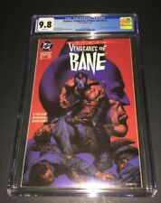 Batman: Vengeance of Bane Special #1 CGC 9.8 First Appearance Origin NM/MINT WP