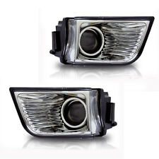 For 2003-2005 Toyota 4Runner Clear Lens Chrome Housing ABS Fog Lights Lamps