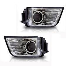 For 2003-2005 Toyota 4Runner Clear Lens Chrome Housing ABS Fog Lights Lamps