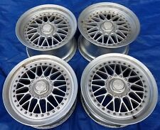 Racing Hart ZR Mesh 3-Piece Old School JDM 17x9.5/8 Wheels 5x114.3 -Nissan 300zx