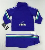 Adidas baby girls' set, 2 piece Tracksuit Jacket & pants sizes 12,18,24 months