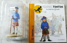 Tintin in kilt 13cm island black Hergé moulinsart 42192