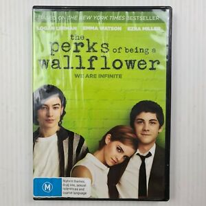The Perks Of Being A Wallflower DVD - Emma Watson - Region 4 - TRACKED POST