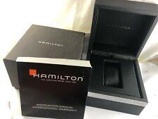 Caja Vacía Reloj  HAMILTON , Box