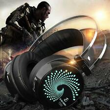 3.5mm+USB HIFI Sound Computer Gaming Headset Headphone with Mic for PC Notebook