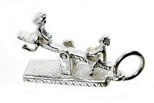 STERLING SILVER MOVING SEESAW CHARM