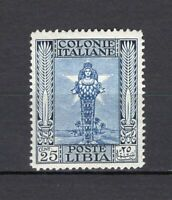 #560 - Colonie, Libia - 25 cent Pittorica, 1924 - Nuovo (** MNH)