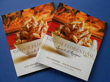## GROSSI FLORENTINO SECRETS & RECIPES - GUY GROSSI & JAN McGUINNESS **AS NEW