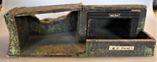 big prewar LINEOL machine gun trench building with guard house WWII