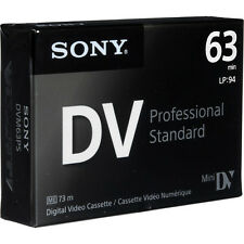 1 Sony Pro PC Mini DV camcorder video tape for PC105 PC101 PC1000 PC100 HC96