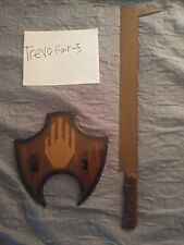 Lord of The Rings: Uruk-Hai Orc Scimitar Official Sword *Rare*