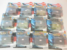 CAN DO Pocket Army 1/144th Scale M1A1 Abrams Tank Assortment 12 Pcs New In Packs