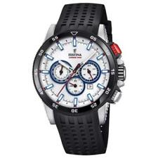 New Festina 2018 Chrono bike Rubber Band Blue  F20353/1  Watch