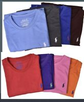 New Men Polo Ralph Lauren Crew Neck T-Shirt Size S M L 3X 4X 5X  - STANDARD FIT.