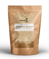 Pure Agaricus Blazei Mushroom Powder - Medicinal | Homeopathic | Raw | Detox Tea