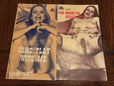 Vintage Sleeze Paperback -Come Play With Me -For Whom The Bells Toil Guild Press