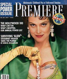 1992 Premiere May-Sigourney Weaver;Alien;Dan Akroyd;John Goodman;Samuel  Jackson