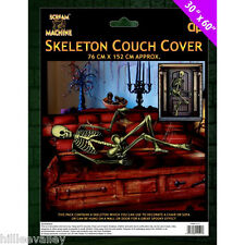 Halloween DIVANO COPERTURA DIVANO scheletro da Appendere Muro Decorazione Partyware spaventosa