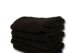 BLACK; Bleach Resistant or Black  (plain dyed) and WHITE HAIRDRESSING TOWELS