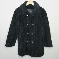 Vintage Susan Lynn Teddy Bear Double Brested Jacket Union Made - Women's S/M