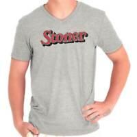 Stoner Smoker Weed Marijuana Pot 420 Gift Adult V Neck Short Sleeve T Shirts