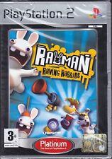 Ps2 PlayStation 2 **RAYMAN RAVING RABBIDS** nuovo sigillato italiano pal
